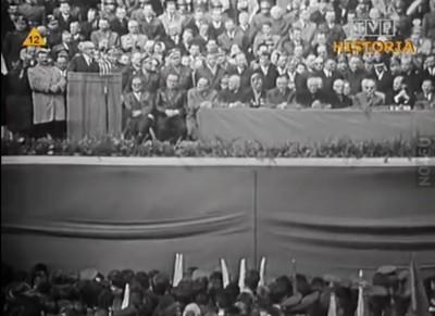 1966 JK MILLENIUM GOMULKA NA TRYBUNIE
