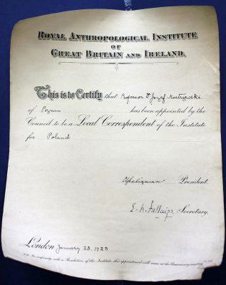 Dyplom przed konserwacją