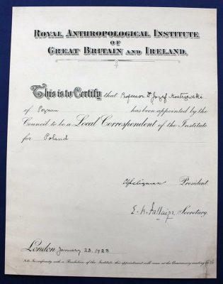 Dyplom po konserwacji